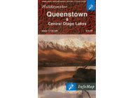 Queenstown and Central Otago Lakes Map