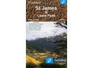 St James & Lewis Pass Trackmap